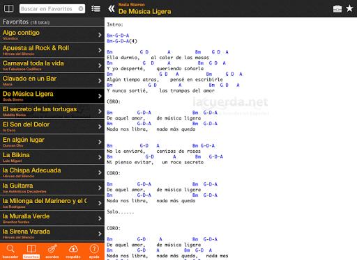 Screenshot for Latin Chords (LaCuerda PRO) in Hong Kong Play Store