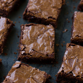 Rich Fudgy Flourless Brownies.