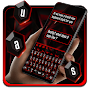 Business Black and Red Keyboard Theme