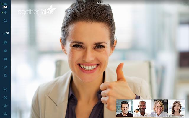 Together Talk Live Screenshare