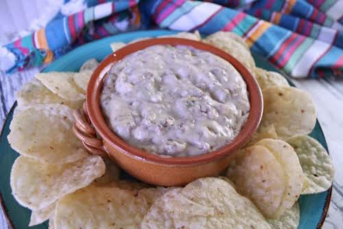 "Meaty Queso Blanco Dip ""This dip now is a family favorite at..."