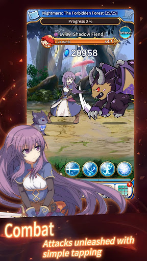 Screenshot for Eternal Senia - Hydrangea After The Rain in United States Play Store