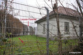 Photo: Wesserwerk Berg der EnBW hinter dem Zaun