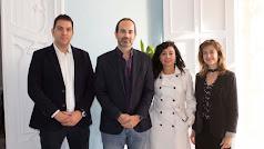 El nuevo equipo de funcionarios junto al alcalde, Jose Luis Amérigo.