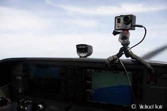 Photo: GoPro står på og lager film.
