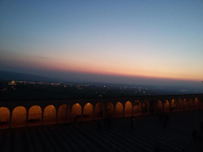 San Francisco cloister in sunset di luisa corfiati