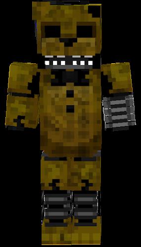 Ignited Golden Freddy Nova Skin