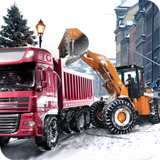 Loader & Dump Truck Winter SIM