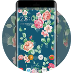 Flower theme for rose Icon