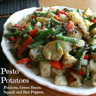 Pesto Grilled Potatoes