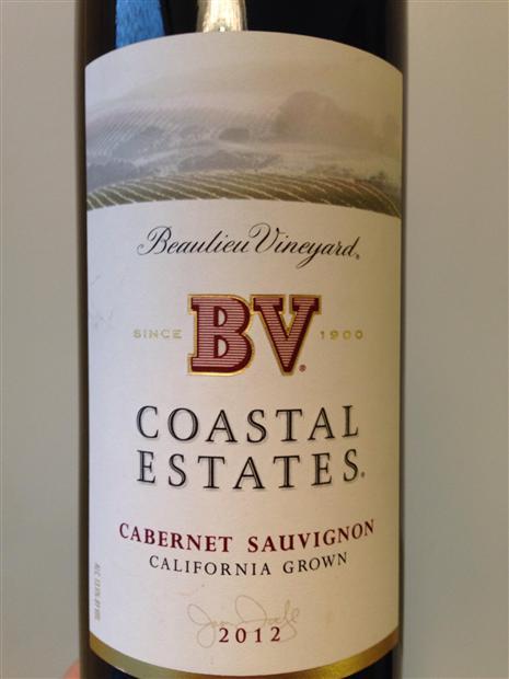 Logo for Bv Coastal Estates Cabernet Sauvignon