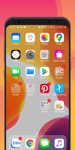 Launcher iOS 14 screenshot 3