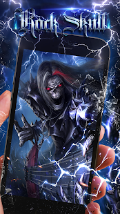 Rock Skull Live Wallpaper- screenshot thumbnail