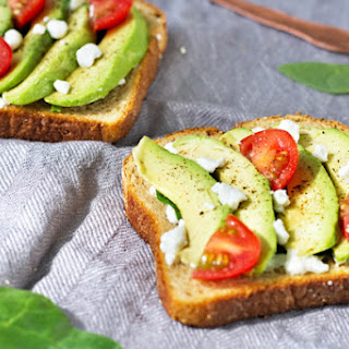 Grilled Avocado Goat Cheese Toast Recipe