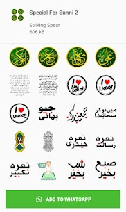 Islamic Stickers, Islamic Stickers For Whatsapp App Download For Android 4