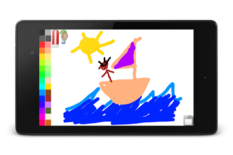 Blackboard for toddlers- screenshot thumbnail