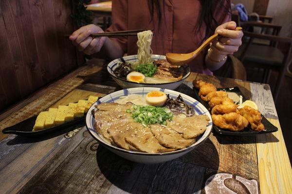 山禾堂拉麵台中店-台中濃厚系拉麵,浮誇夢幻甜點