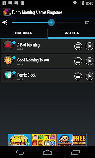 Funny Morning Alarm Ringtones screenshot 4