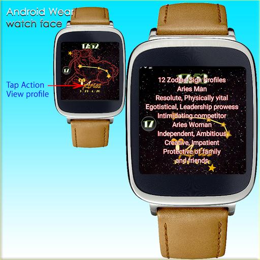 12 zodiac sign aries WatchFace