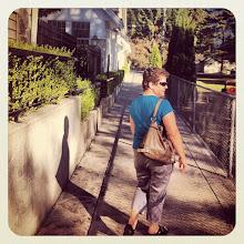 Photo: Maple Ridge neighbourhood shortcut close to 228th Street on a sunny autumn day #intercer #walk #woman #tree #branch #leaves #street #light #sun #city #fall #urban #town #shadow #britishcolumbia #canada #pretty #beautiful #green #mapleridge #pittmeadows #fence #house #alley - via Instagram, http://instagr.am/p/R6Z4gkpfhI/