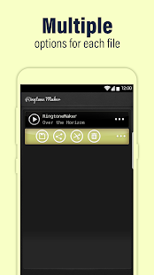 Call Ringtone Maker – MP3 & Music Cutter Screenshot