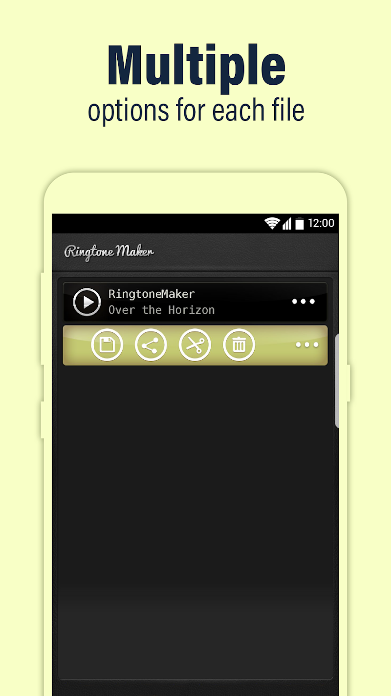 Call Ringtone Maker – MP3 & Music Cutter Screenshot 3