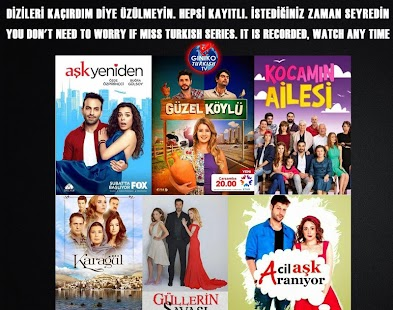 Giniko Turkish TV - Live & DVR- screenshot thumbnail