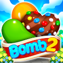 Candy Bomb 2 - New Match 3 Puzzle Legend Game icon