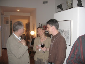 Photo: Professor Ivan Ekland and Pascale and Kurt Van Dender
