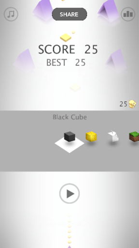 IMPOSSIBLE CUBE JUMPER: OBSTACLE COURSE GAMES apkmind screenshots 2