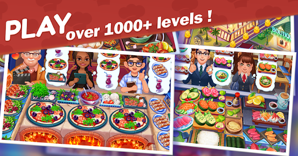 Cooking Voyage Mod Apk- Crazy Chef's (Unlimited Money) 1.4.2 6