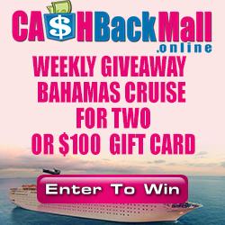 Cash Back Mall Giveaway Link