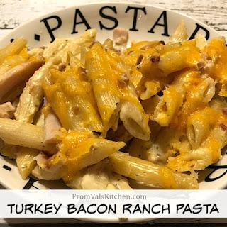 Turkey Bacon Ranch Pasta.
