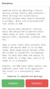 Comatose — Android Deep Sleep 1