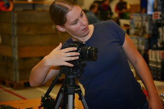Photo: catt taking a Picture of her MOC