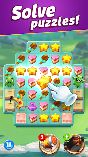 Angry Birds Match 3 apkpoly screenshots 2