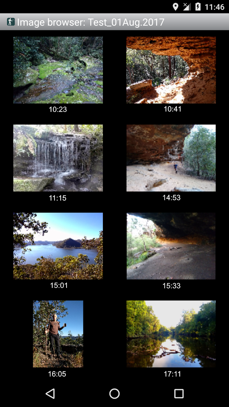 Handy GPS Screenshot 5