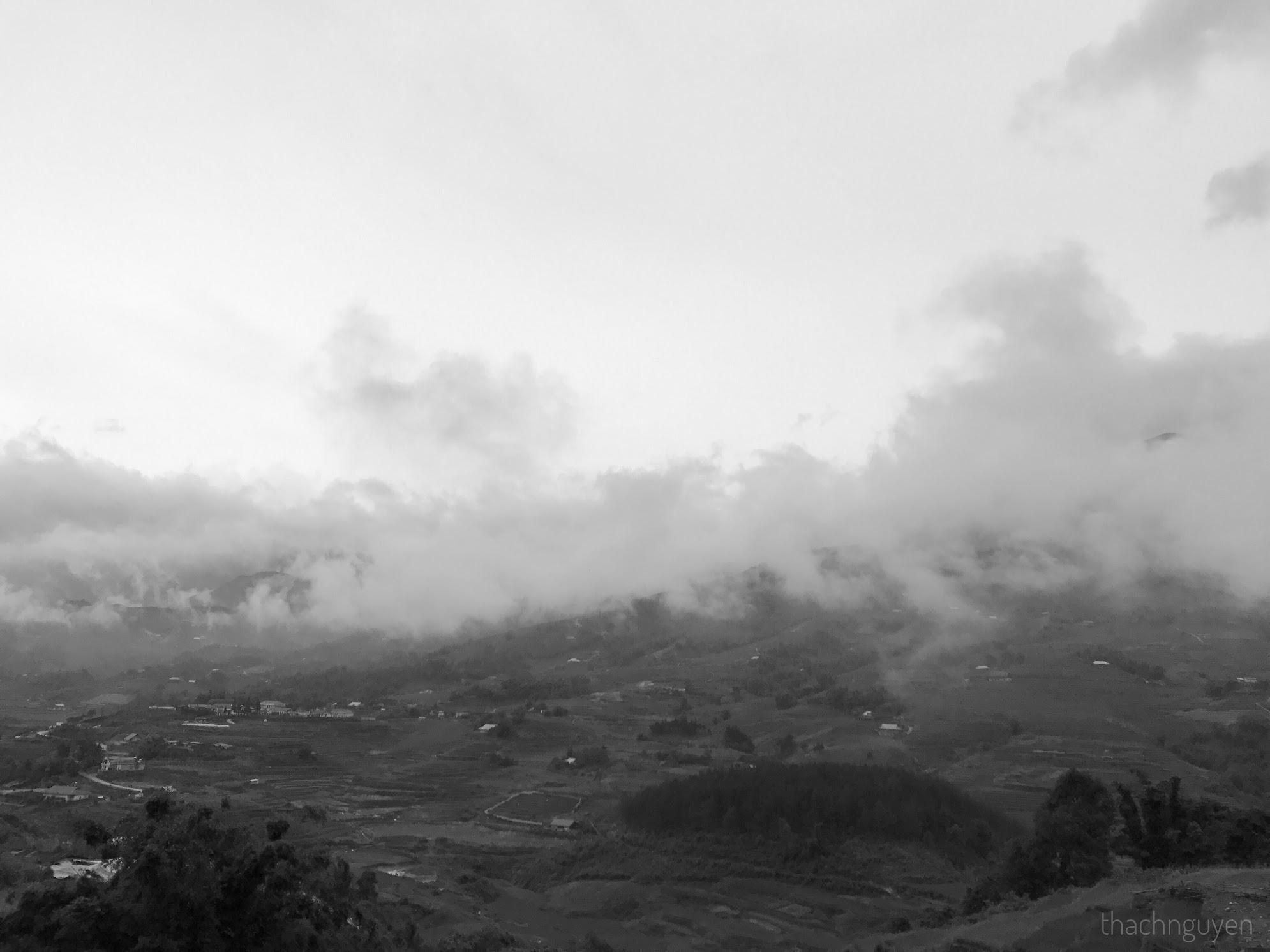 mây trắng trời - tả pìn