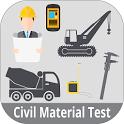 Civil Material Tester icon