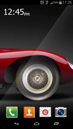 Fast Wheels Live Wallpaper