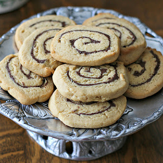 Chocolate Swirl Peanut Butter Cookies