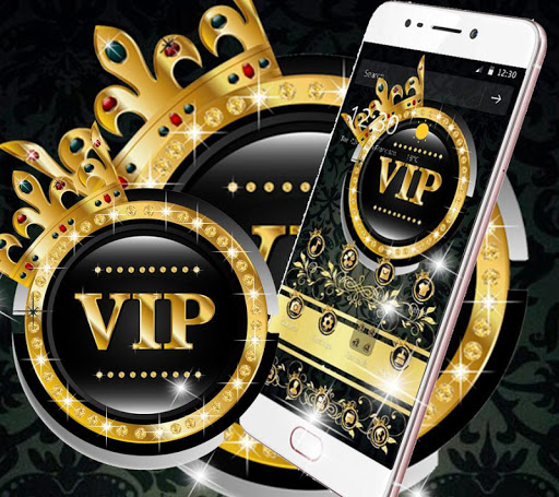 Gold Black Crown VIP Theme cheat hacks