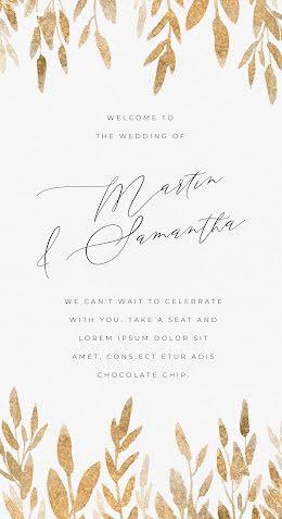 Martin & Samantha - Wedding Announcement item