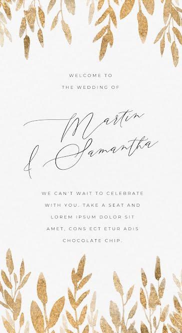 Martin & Samantha - Wedding Template
