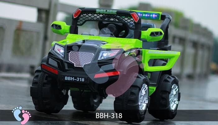 Ô tô điện trẻ em BBH-318 kiểu Police 5