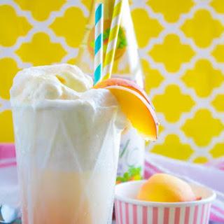 Peaches and Cream Floats Recipe