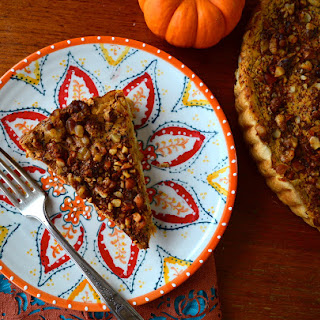 SPICY AND SAVORY PUMPKIN PIE