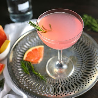 The French Tart (Grapefruit, Elderflower and Rosemary Cocktail) Recipe