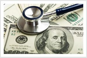 Medical Instrument  on Money