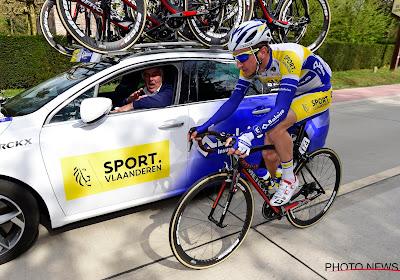 Einde seizoen voor Edward Planckaert: renner van de baan gemaaid door wagen en achter gelaten in de gracht